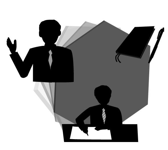 ビジネス文章を書く人と話す人