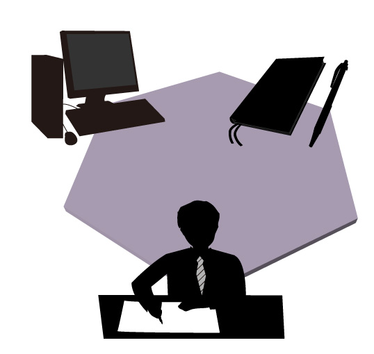 パソコンとビジネス文章