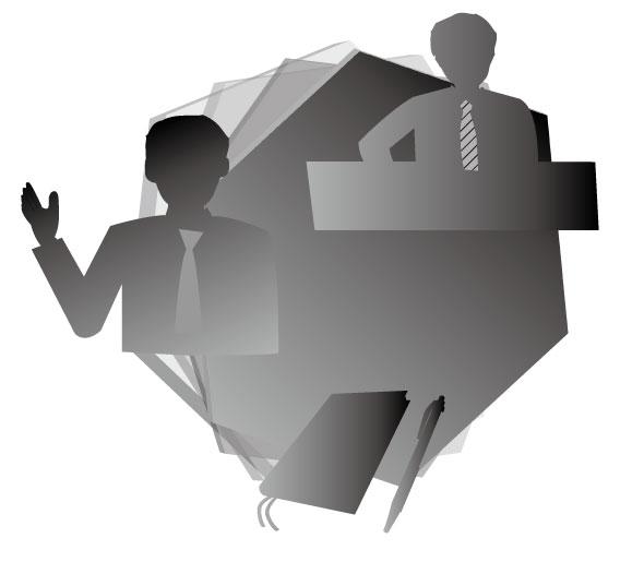 ビジネス手帳とデスクワーク